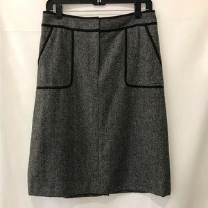 LOFT a-line skirt. Size 6.
